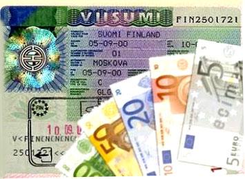 Прокат визы в Финляндию ночью (2 дня по штампам)